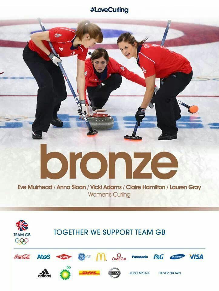 Team GB take bronze in Women's Curling, Sochi 2014