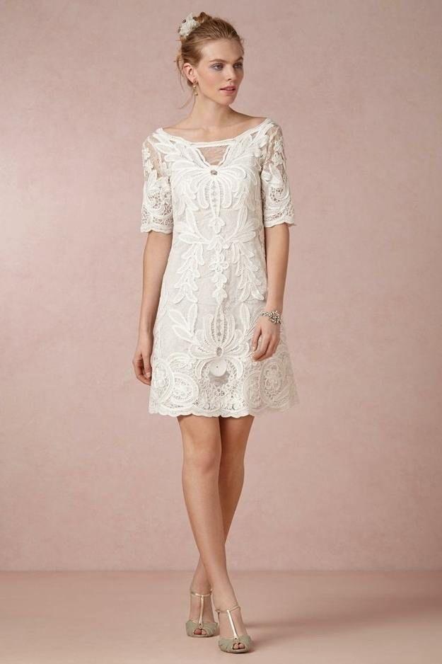 Gorgeous City Hall Wedding Dresses for the Stylish Bride - MODwedding