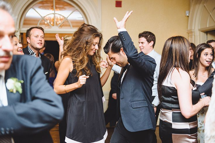 Getting into the groove at a Graydon Hall Manor wedding!  Photo by Mango Studios - Music by Michael Coombs.