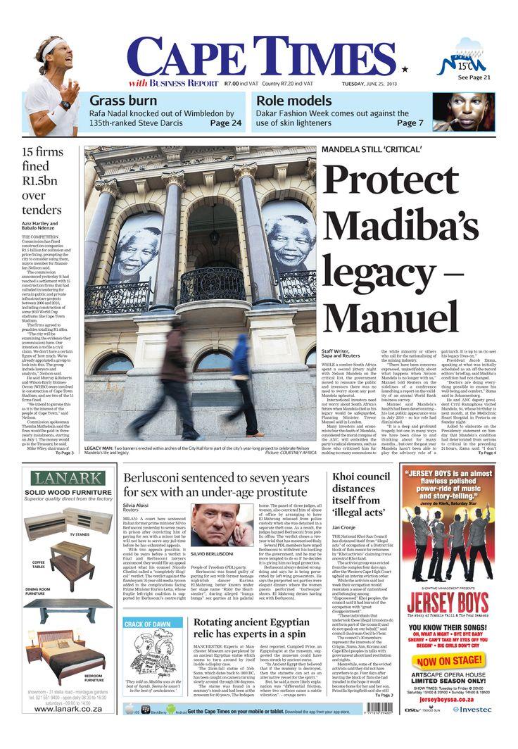 Protect Madiba legacy