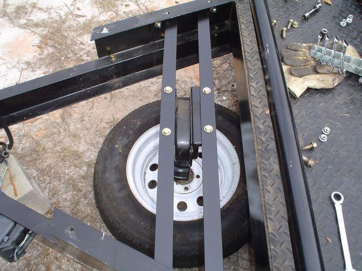 spare wheel mounts trailer - Google Search   Trailer ...