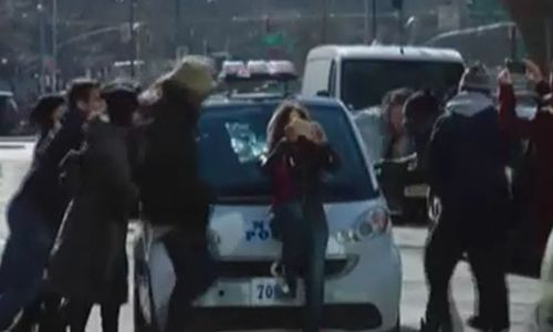 'Blue Bloods,' the most popular cop show on tv, mocks liberals' foolish little 'going green' cop car initiative
