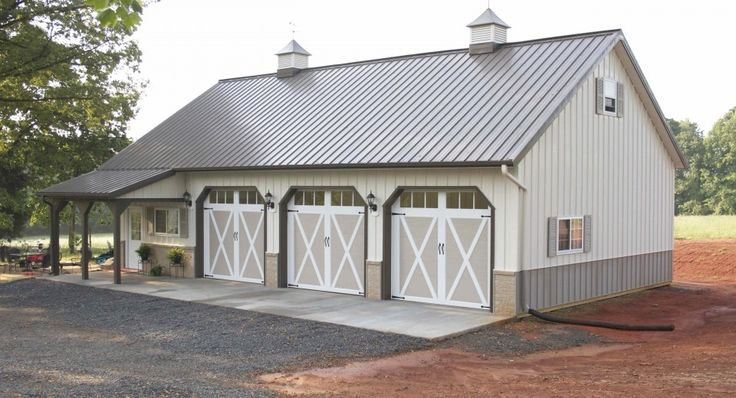 25 best ideas about pole barn packages on pinterest for Garage packages nc
