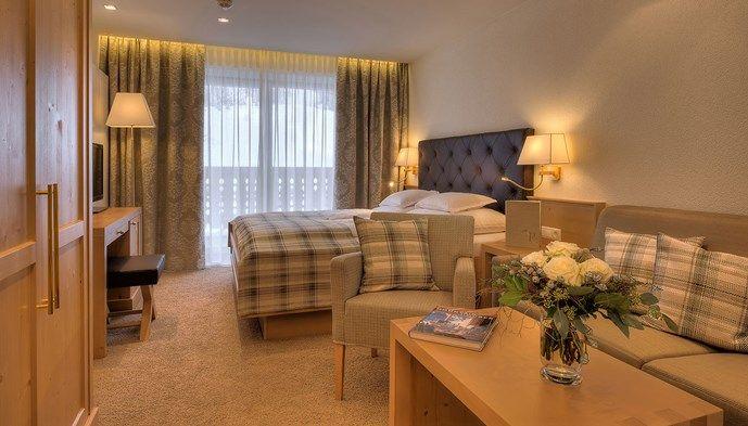 Dubbelrum hotel garni palin sts alpresor v ra hotell p for Hotel meuble gorret