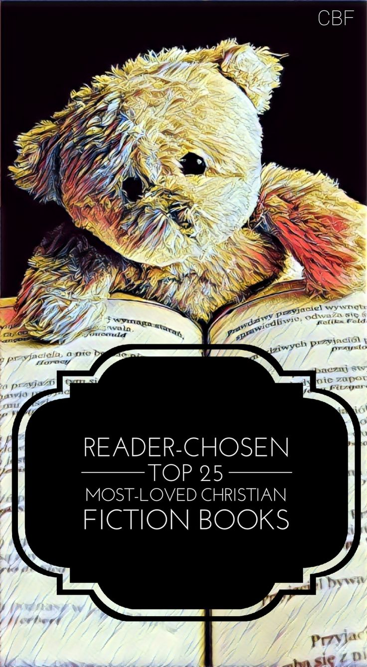 Best Christian Fiction Books, top 25 christian fiction books of all time