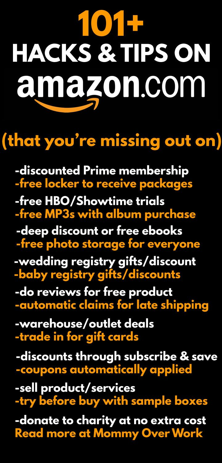 256 best everyday saving ideas images on pinterest money tips 101 amazon perks you might be missing out on fandeluxe Choice Image