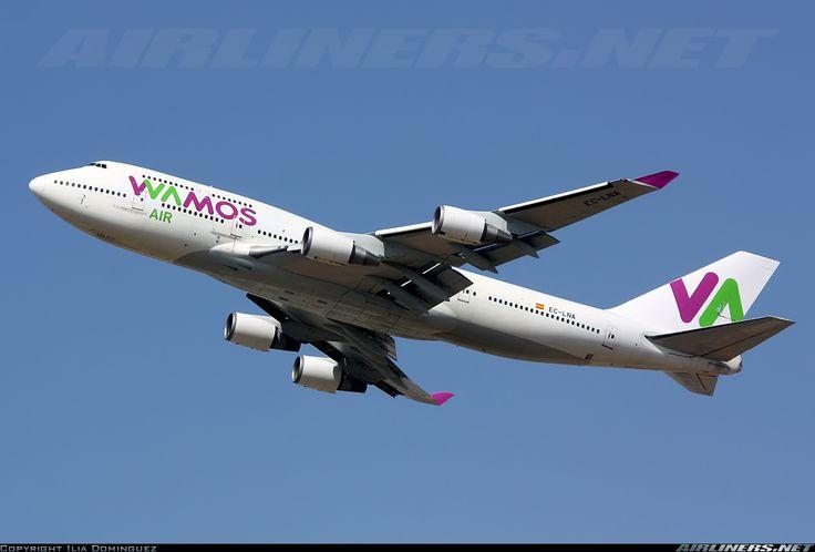 EC-LNA Wamos Air - Boeing 747-446