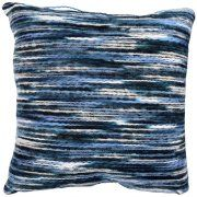 "Better Homes and Gardens Indigo Stripe Decorative Toss Pillow 18""x18"" Image 2 of 2"
