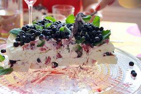 Hämmentäjä: Mustikka-marenkikakku Blueberry merengue cake