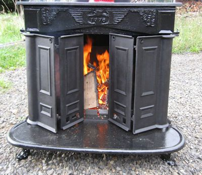 Franklin Stove Restoration - some info from a DIY