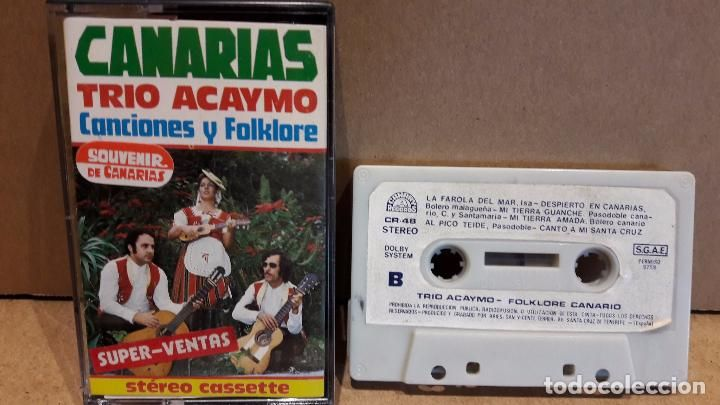 TRIO ACAYMO / CANARIAS. CANCIONES Y FOLKLORE. MC / CANARY A RECORDS - 1973 /