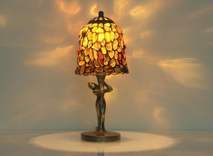 Marvelous Five Amber Table Lamps As Follows: Amber Ball
