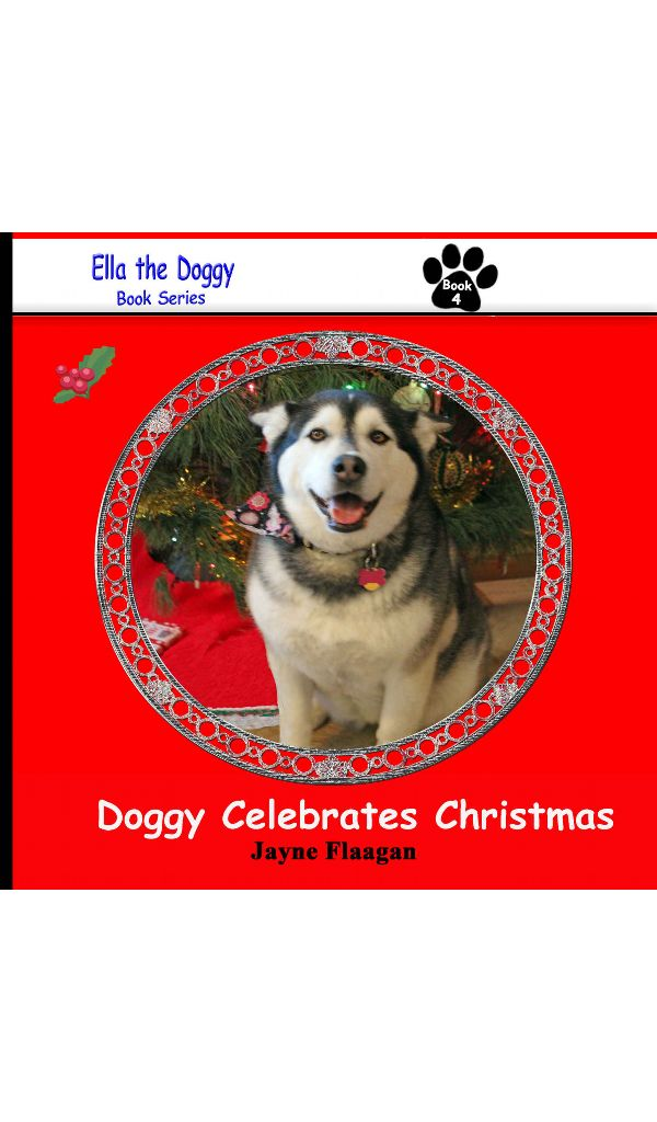 Ella the doggy and her people family are getting ready for the Christmas Holiday!