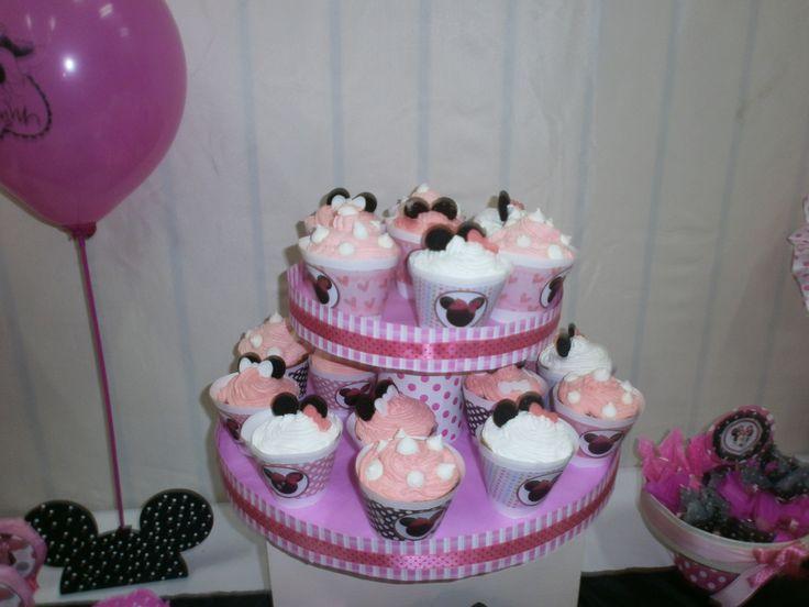 cup cakes decoradas