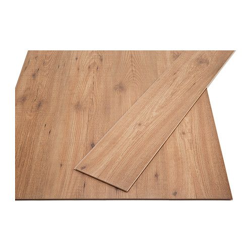 TUNDRA Laminated flooring IKEA Laminated surface; a hardwearing floor, suitable for use in any area of the home except wet rooms.