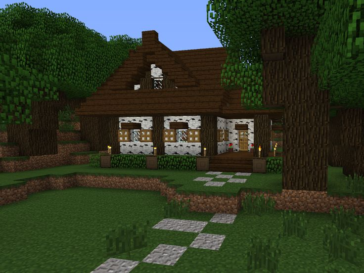 Forest Cottage Tutorial - Screenshots - Show Your Creation - Minecraft Forum - Minecraft Forum