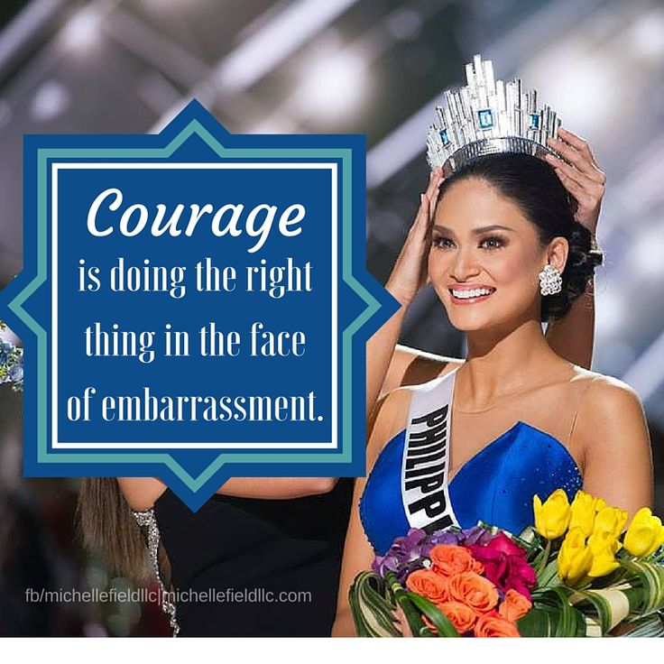 What the Miss Universe 2015 pageant shows us about courage. Lessons learned from Miss Universe 2015.