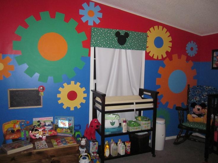 kams mickey mouse club house nursery