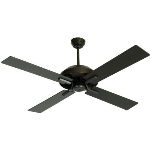 ceiling fan black. craftmade south beach 52 4 blade indoor / outdoor ceiling fan - blades and black
