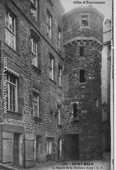 Saint Malo, la maison de la Duchesse Anne