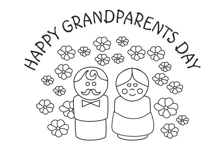 Print a Free Grandparents Day Card: Happy Grandparents Day Card from Lee Hansen