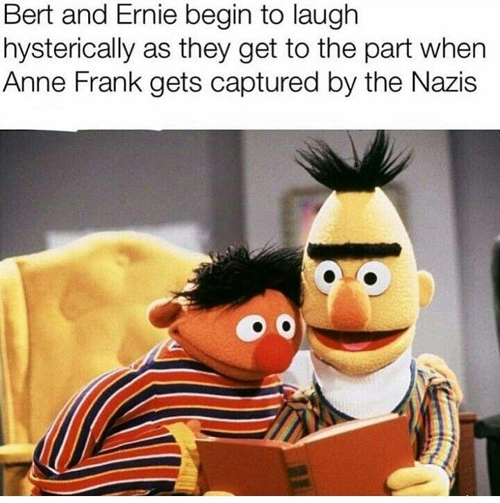 Pin By Harleegb On Funny Sesame Street Memes Dark Humour Memes Sesame Street