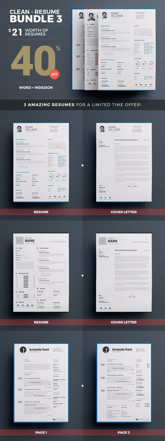 points to cover in a cover letter%0A Clean Resume Cv  Bundle Volume