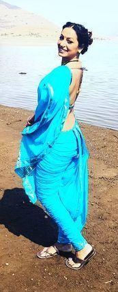 kashmira shah in kashta saree