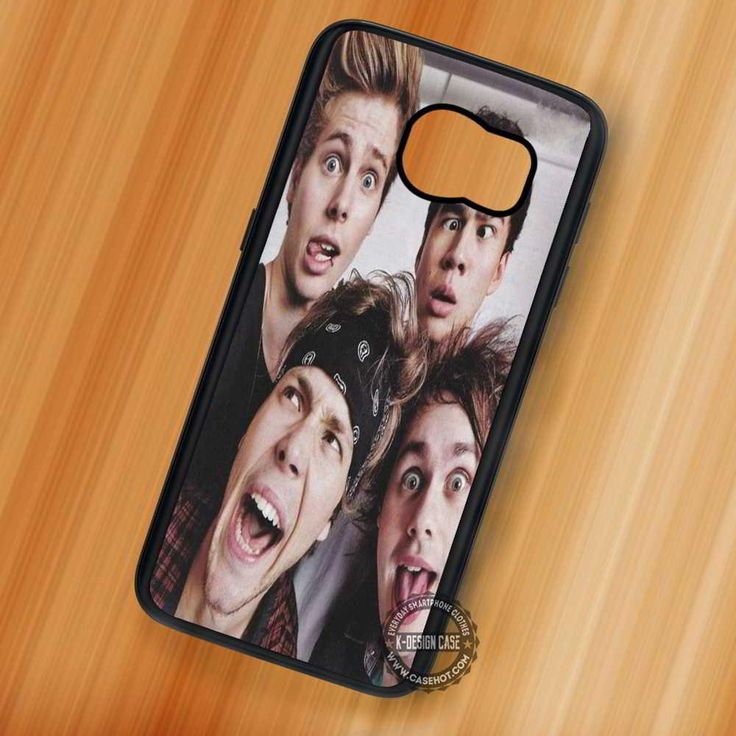 Adorkable Boys 5 Seconds of Summer - Samsung Galaxy S7 S6 S5 Note 7 Cases & Covers