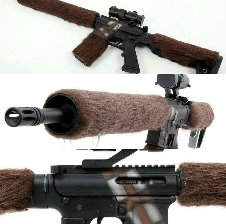 Chewbacca Themed AR-15