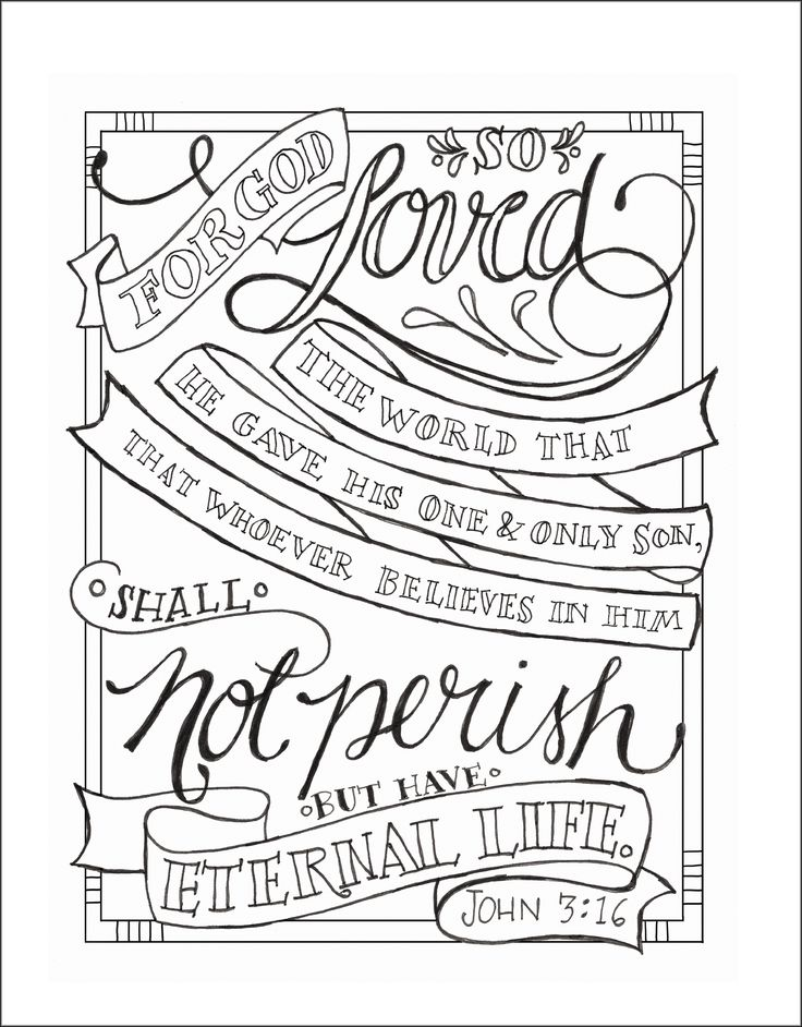 Bible Verse Coloring Pages John 14 6 Coloring Pages