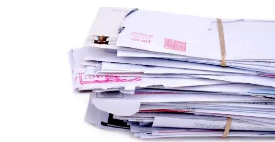 Come riutilizzare volantini pubblicitari e posta indesiderata