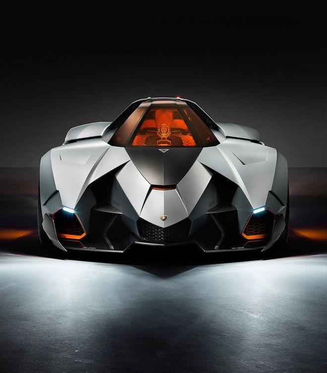 Lamborghini Egoista Concept Car Black: Lamborghini Egoista Concept (With Images)
