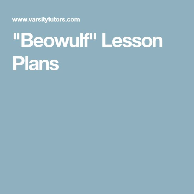 beowulf lesson 3 Beowulf, lesson literary devices used in the beowulf poem  beowulf, lesson 3 :the language of the beowulf poem - youtube high school literaturebritish.