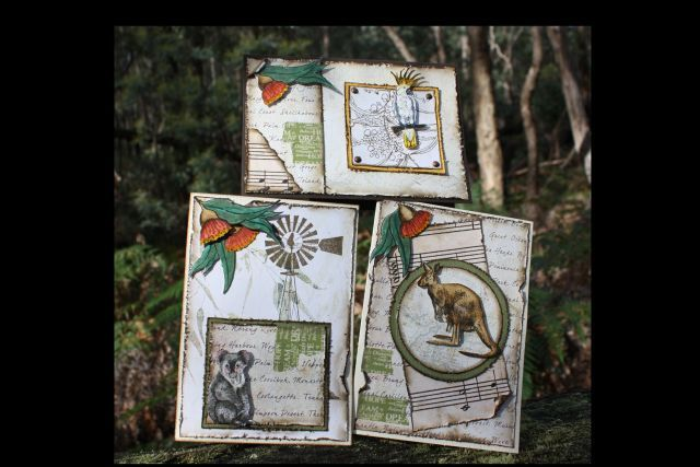 Aussie Animals Card set by Debbie Green