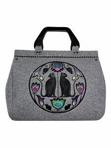GOSHICO embroidered bowling bag FOLK ART http://www.mybags.co.uk/goshico-embroidered-bowling-bag-folk-art-1300.html