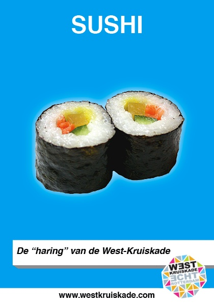 Sushi, de haring van de West-Kruiskade | Hap van de week ...