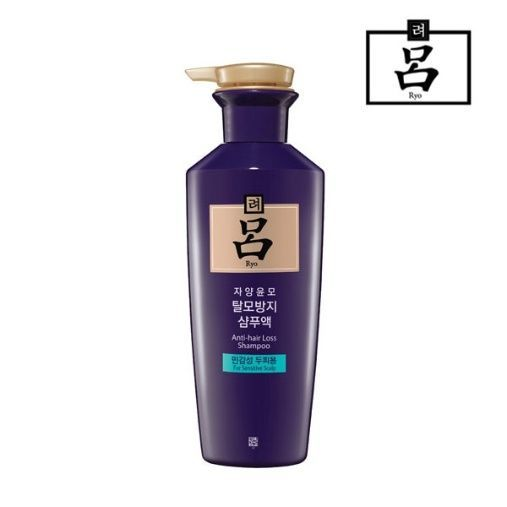 Ryo Ryoe Jayang Yoon Mo Anti Hair Loss Shampoo 400ml Ginseng For Sensitive Scalp #AMOREPACIFIC