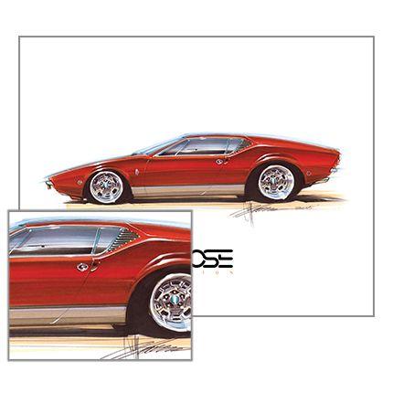 227 best Chip Foose Art images on Pinterest | Car, Car drawings ...