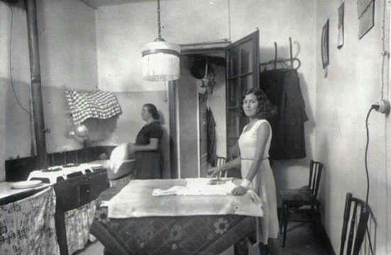 Cuina menjador, anys 30- 40 BARCELONA