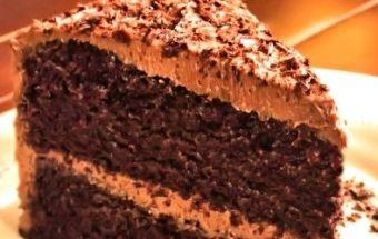 Торт мокко карамель