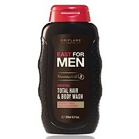 #Oriflame #East for #Men Fortifying Total #Hair & #Body #Wash  www.kosmetikaslevy.cz
