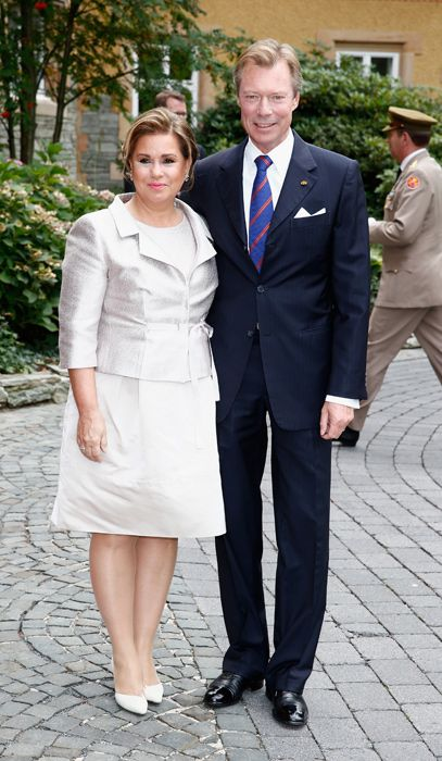 Luxembourg royal wedding: Prince Felix weds Claire Lademacher - Grand Duke Henri and Grand Duchess Marie Teresa
