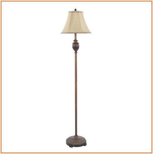 Remarkable Orange Floor Lamp