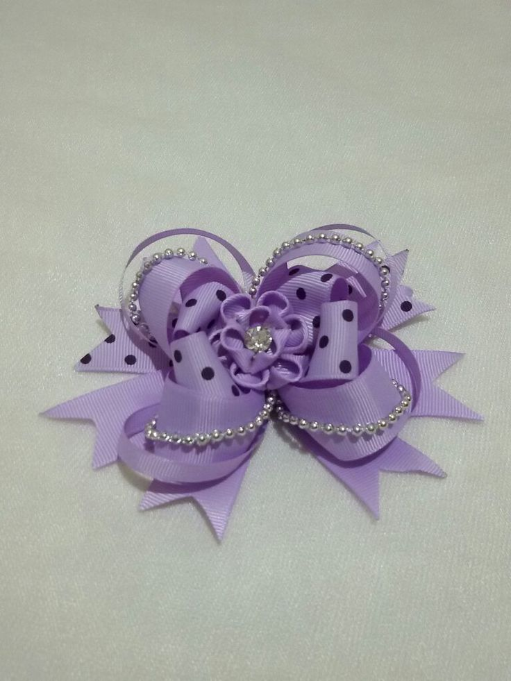 $5   Stacked bowtique bow