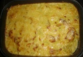 Fransız Mutfağı Rokfor peynirli patates güveç tarifi