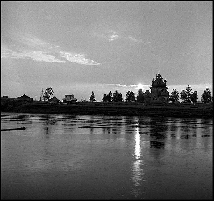 Река Онега. Бережная Дуброва. 1966
