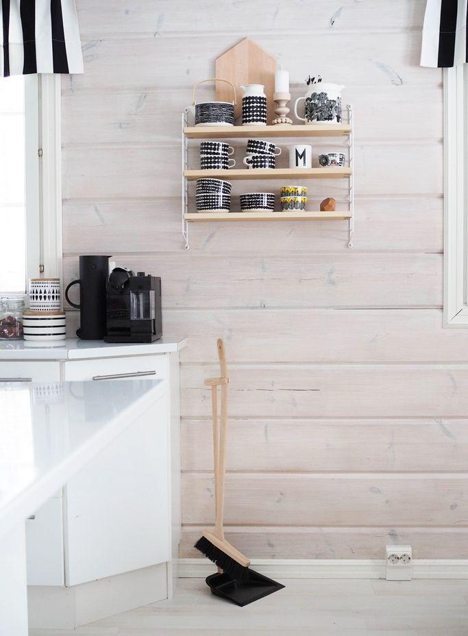 marimekko siirtolapuutarha kitchen diningroom string system