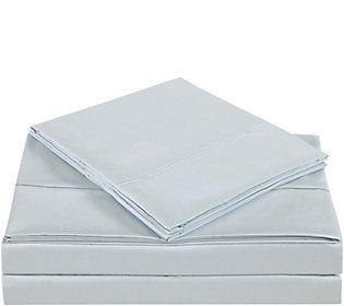 charisma 310tc solid cotton california king sheet set