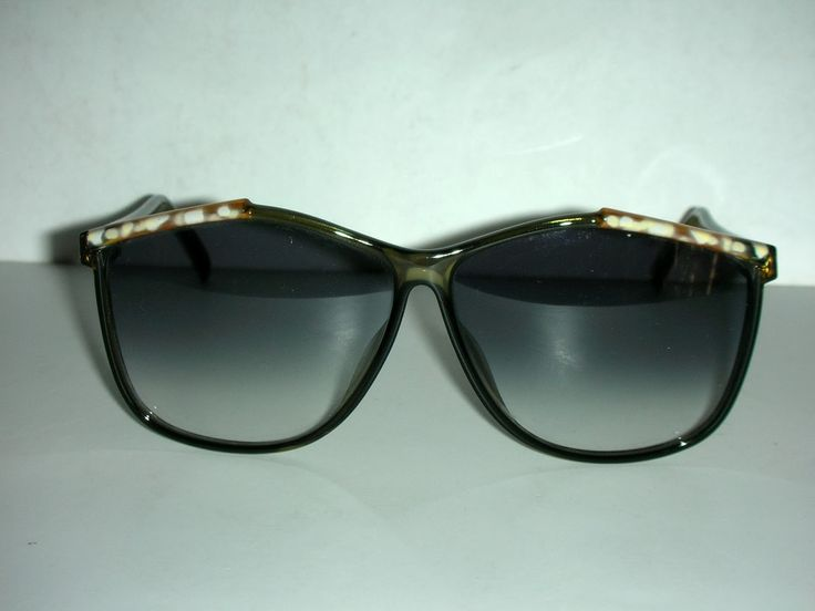 HOT COUTURE VINTAGE EYEWEAR : Vintage Viennaline Germany 80's Era Sunglasses